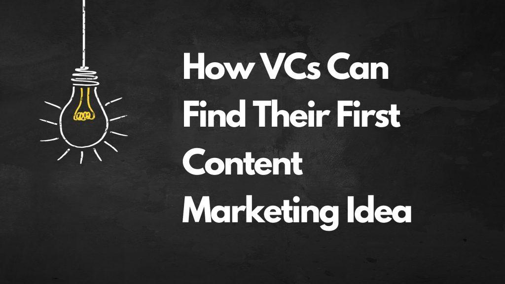 Finding A Marketing Idea